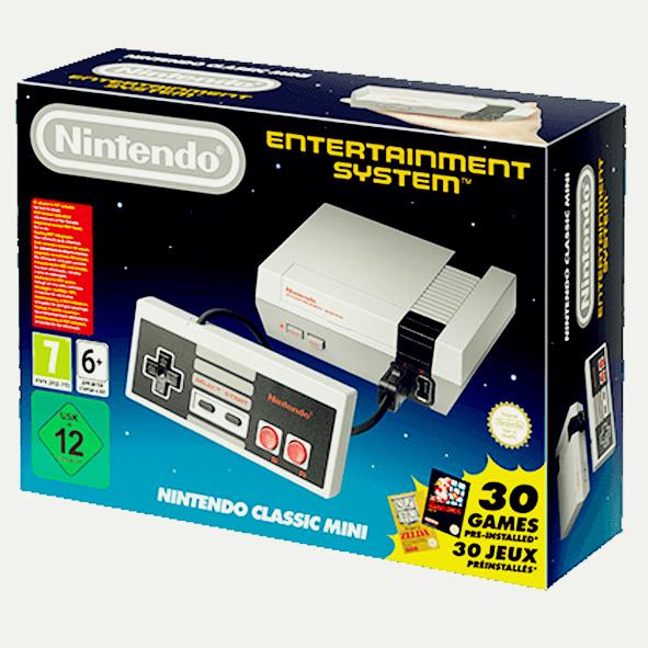 NES Classic Mini Packung